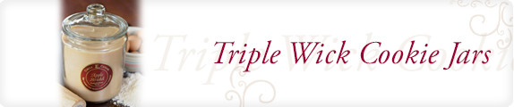 Triple Wick Cookie Jar - Our largest candle! This classic jar is perfect for the biggest candle lover!