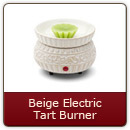 Beige Electric Tart Burner - Beige Electric Tart Burner