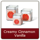Creamy Cinnamon Vanilla - A smooth blend of vanilla infused with cinnamon.