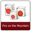 Fire on the Mountain - Hot spicy cinnamon. Reminiscent of a crisp autumn morning.