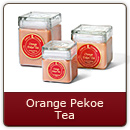 Orange Pekoe Tea - The irresistible aroma of fresh-brewed orange pekoe tea.