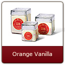 Orange Vanilla - A zesty citrus grove gently laced with French vanilla.