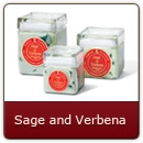Sage & Verbena - Energize your mind and spirit with this refreshing fragrance.