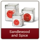 Sandlewood & Spice - A blend of Mother Nature's soothing aromas.