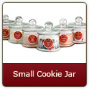 Small Cookie Jar - Round 22 oz. Mini Cookie Jar